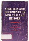 Speeches and Documents on New Zealand History [Hardcover]
