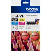 for Brother Ink Cartridge LC73PVP BLack/Cyan/Magenta/Yellow 600 pages 4 / pack