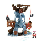 Fisher-Price Jake and the Never Land Pirates Hook's Adventure Rock Playset