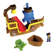 Fisher-Price Jake and the Never Land Pirates Splashin Bucky Bath Toy