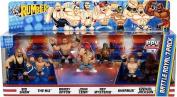 WWE Rumblers Battle Royal Figures - 7-Pack