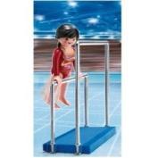 Playmobil Gymnast on Parallel Bars
