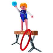 Playmobil 5190 Gymnast on Balancing Beam