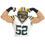 Green Bay Packers NFL Championship 15cm Action Figure 3-Pack - Aaron Rogers, Clay Matthews and Greg Jennings