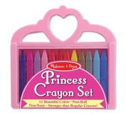 Melissa And Doug Princess Crayon Set