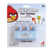 Angry Birds 6-Pack Tiny Toppers Collectible Pencil Toppers - Blue Birds