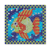 Melissa And Doug Peel And Press Mosaics-Tropical Fish