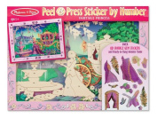 Melissa and Doug 4009 Peel & Press Sticker by Number - Fairytale Princess