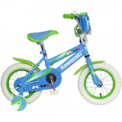 Kawasaki 30cm Kids' Bicycle with Training Wheels