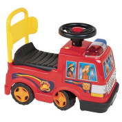 Sit N Ride Fire Engine Foot To Floor Ride On - Red