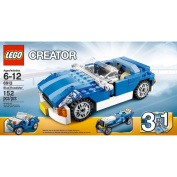 LEGO Creator 3-in-1 Blue Roadster