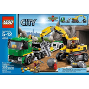 LEGO City Excavator Transport 4203 Play Set