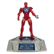 Marvel Universe Exclusive Comic Series Figure With Light Up Base Extremis Iron Man