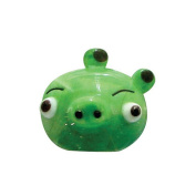Angry Birds Glass Figurines - Green Pig