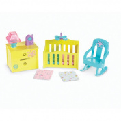 Fisher-Price Dora the Explorer Playtime Together Deluxe Dollhouse Furniture Set - Nursery