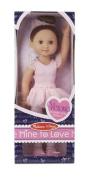 Melissa & Doug Victoria - 355 mm Ballerina Doll