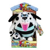 KooKoo Kennel Barking Plush Toy with Matching Mini KooKoo Puppy - Dollymation
