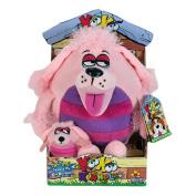 KooKoo Kennel Barking Plush Toy with Matching Mini KooKoo Puppy - Poodledoodle