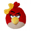 Angry Birds Plush 13cm Girl Red Bird With Sound