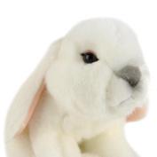 ToyShop 28cm Plush Bunny - White