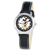Disney Kid's Mickey Mouse Stainless Steel Time Teacher Watch