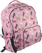 Wildkin Horses in Pink Macropak Backpack, Horses in Pink