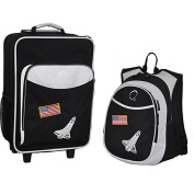 O3 Kids Space Luggage and Backpack Set With Integrated Cooler