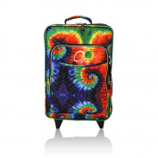 O3 Kids Tie-Dye Luggage With Integrated Cooler