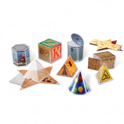 Learning Resources LER4356 Real World Geometric Shapes