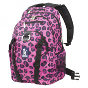 Wildkin 53214 Pink Leopard Serious Backpack