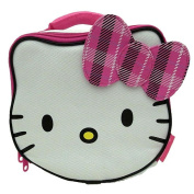 Hello Kitty Lunch Kit - Hello Kitty with Pink Plaid Bow