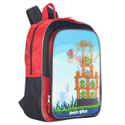 Angry Birds 41cm Backpack - Red and Black