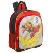 LEGO Ninjago 41cm Flame Wind Backpack - Red and Black