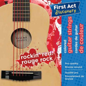 First Act Discovery Boys Guitar Strings - Rockin' Red