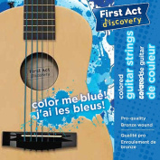 First Act Discovery Boys Guitar Strings - Colour Me Blue
