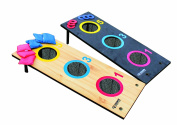 Triumph Sports 2-in-1 Bag Toss Tournament and 3 Hole Washer Toss