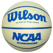Wilson Illuminator, Glow in the Dark Intermediate(72.4cm ) rubber basketball