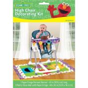 ShindigZ High Chair Decorating Kit - First Birthday - Sesame Street