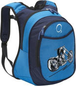 O3 Kids Pre-School Motorcycle Backpack with Integrated Lunch Cooler