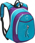 O3 O3KCBP004 Kids Pre-School All-in-One Backpack With Cooler - Turquoise Butterfly