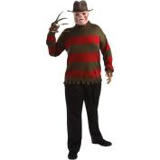 Nightmare on Elm Street Freddy Krueger Sweater Halloween Costume - Adult Plus One Size