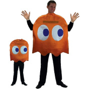 Pac-Man Clyde Deluxe Halloween Costume  - Adult Standard One Size