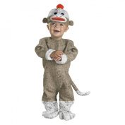 Disguise Inc 32724 Sock Monkey Infant Costume Size 12- .