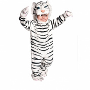 Tiger Halloween Costume - White - Child Size Large 4-6