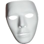 Blank Male Mask Halloween Accessory