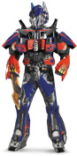 Transformers Dark of the Moon Theatrical 3D Optimus Prime with Vacuform Halloween Costume - Adult Size X-Large 42-46