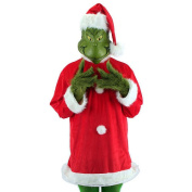 Dr. Seuss How the Grinch Stole Christmas - Deluxe Grinch Christmas Costume - Adult Plus Size