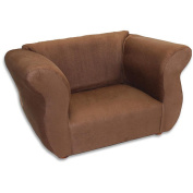 Fantasy Furniture Fancy Chair - Brown Microsuede