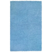 St. Croix Trading Company Chenille Shag 1.2m x 1.8m Area Rug - Light Blue