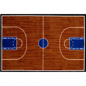 39x58 Area Rug- Basketball Court